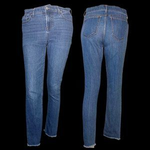 Old Navy Power Slim Straight High Rise Jeans